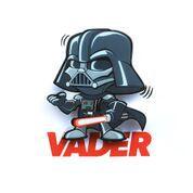 Mini Luminária Darth Vader - Star Wars