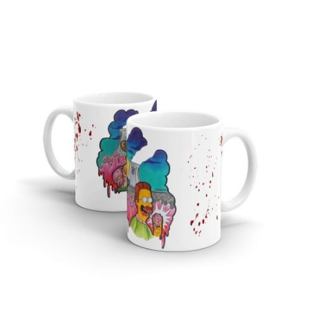 Caneca The Walking Simpsons