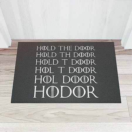 Capacho Hold the Door - GOT