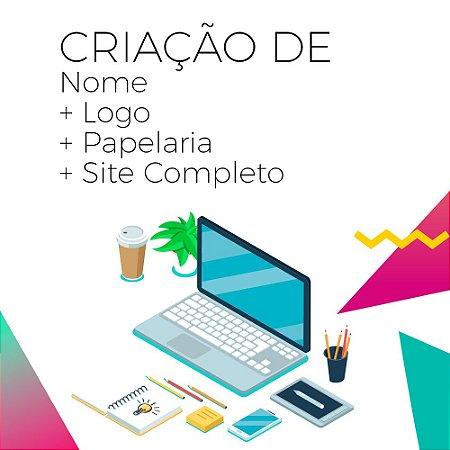 Combo Nome + Logo + Papelaria + Site Completo (não inclui despesas com  hospedagem do f751f671f63