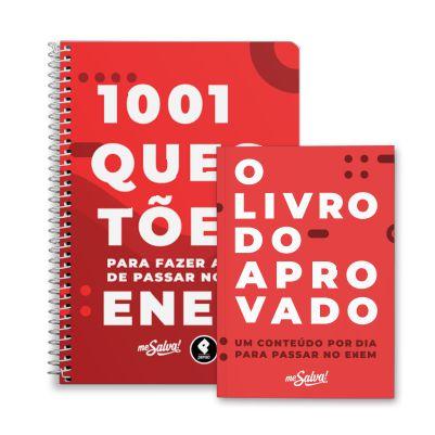 Livro do Aprovado + 1.001 Questões para fazer antes de passar no ENEM