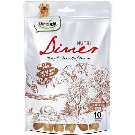 Mordedor Natural Dentalight Nutri Diner Frango e Carne 180g