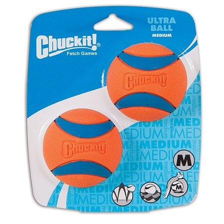 Bola Chuckit Ultraball M - Pack com 2