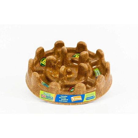 Comedouro Lento Pet Games Eco Pet Fit Madeira P