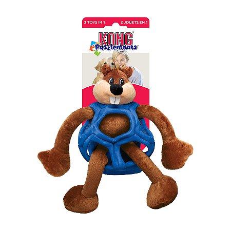 Brinquedo Kong Puzzlements Castor G