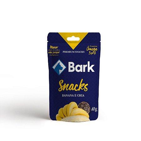 Petisco Bark Banana e Chia
