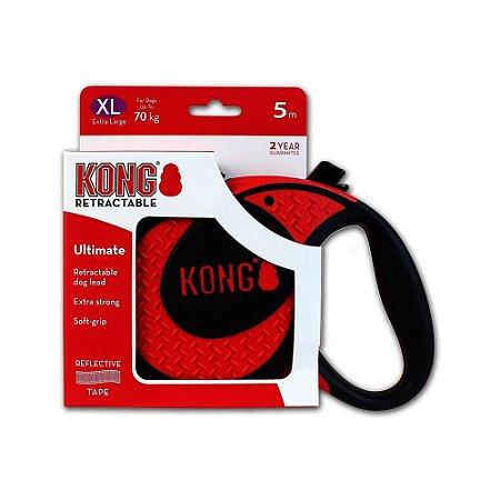 Guia Retrátil Kong Ultimate Vermelha XG
