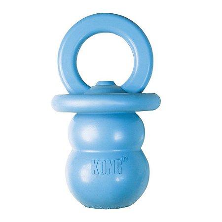 Brinquedo Kong Puppy Binkie Azul M