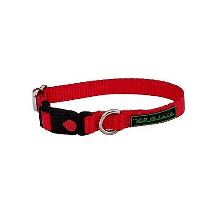 Coleira K-9 Spirit Collar Safety Vermelha P