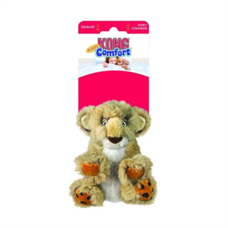Brinquedo Pelúcia Leão Kong Comfort Kiddos Lion - PP