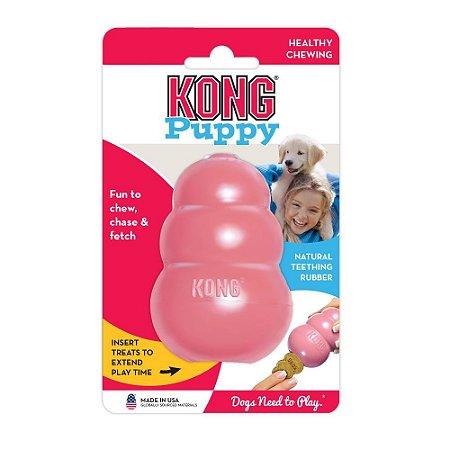 Brinquedo Kong Puppy Rosa M