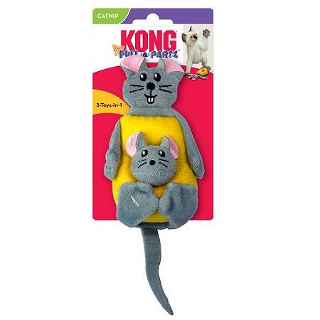 Brinquedo p/ Gatos Kong Cat Pull-A-Partz Cheezy c/ Catnip