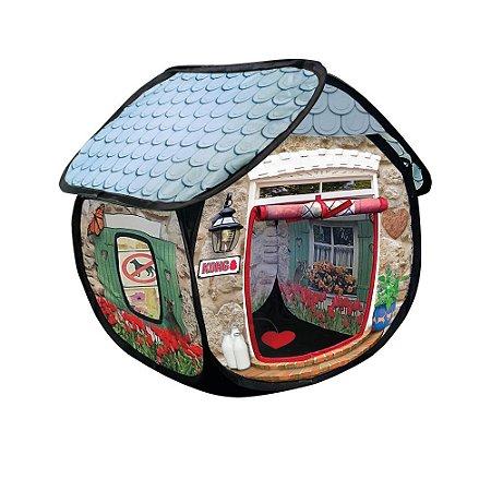 Tenda Interativa p/ Gatos Kong Cat PlaySpaces Bungalow