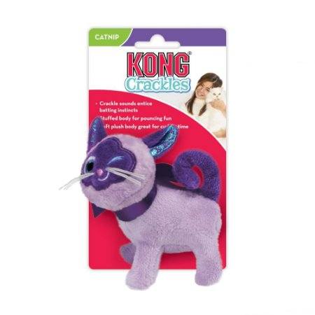 Pelúcia Interativa p/ Gatos Kong Crackles Winkz c/ Catnip