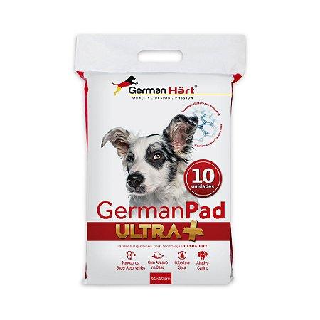 Tapete Higiênico GermanPad Ultra+ 10 unidades