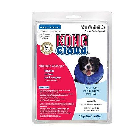 Colar Elizabetano Inflável Kong Cloud Collar para Cães - M