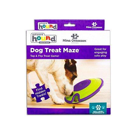 Brinquedo Interativo p/ Cães Puzzle Nina Ottosson Treat Maze