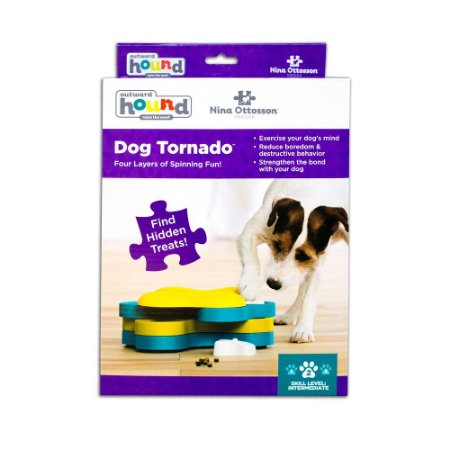 Brinquedo Interativo p/ Cães Nina Ottosson Dog Tornado