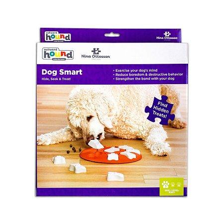 Brinquedo Interativo p/ Cães Nina Ottosson Smart Plastic