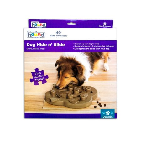 Brinquedo Interativo p/ Cães Nina Ottosson Hide n Slide
