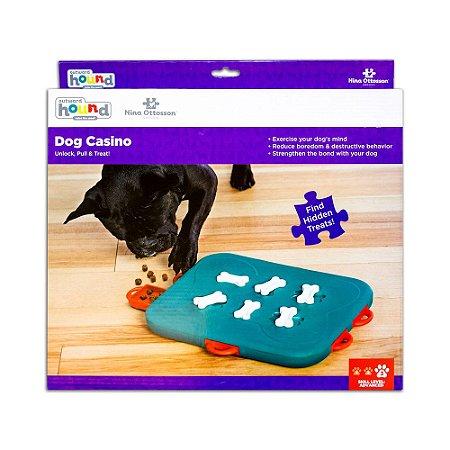 Brinquedo Interativo p/ Cães Puzzle Nina Ottosson Dog Casino