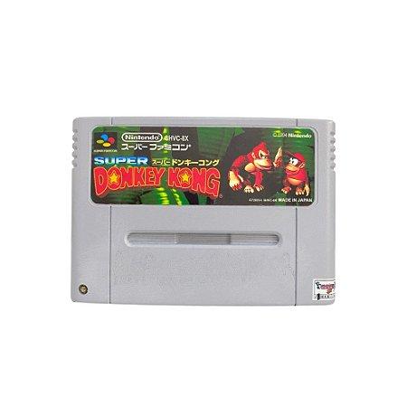 Fita Cartucho Donkey Kong Super Nintendo Super Famicom