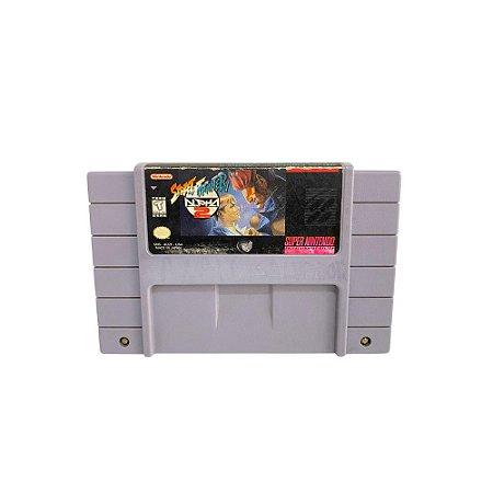 Fita Cartucho Street Fighter Alpha 2 Super Nintendo SNES