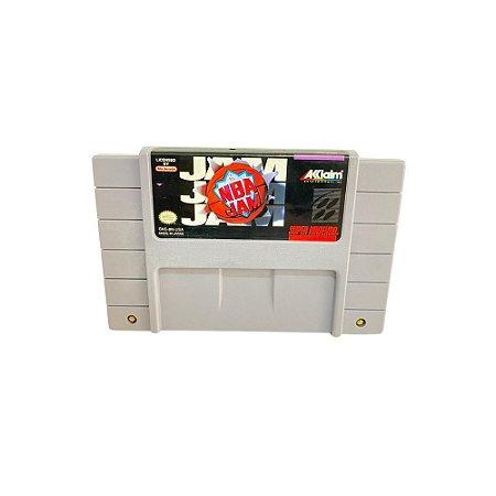 Fita Cartucho NBA JAM Super Nintendo SNES