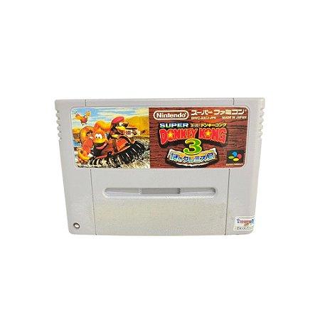 Fita Cartucho Donkey Kong 3 Super Nintendo Super Famicom