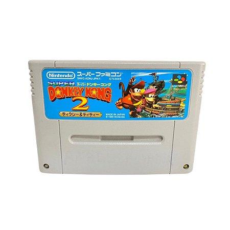 Fita Cartucho Donkey Kong 2 Super Nintendo Super Famicom