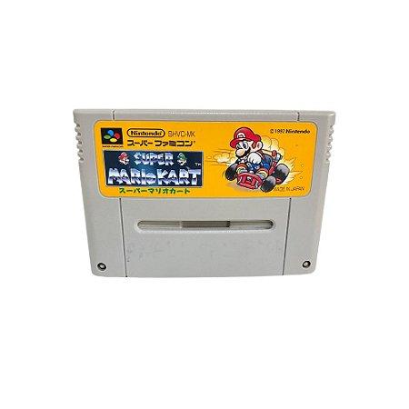 Fita Cartucho Super Mario Kart Super Nintendo Super Famicom