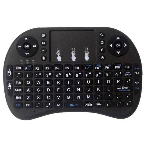 Mini Teclado Mouse Pad para Smart TV, TV BOX, Android, PC