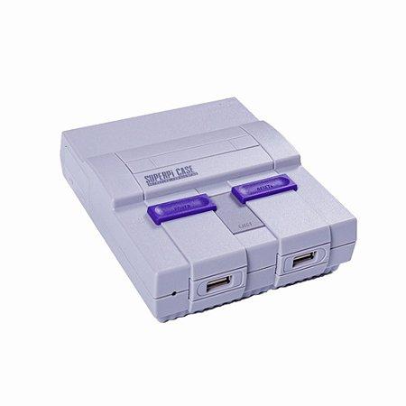 Video Game Retrô RAGBOX 64 Modelo Super Nintendo