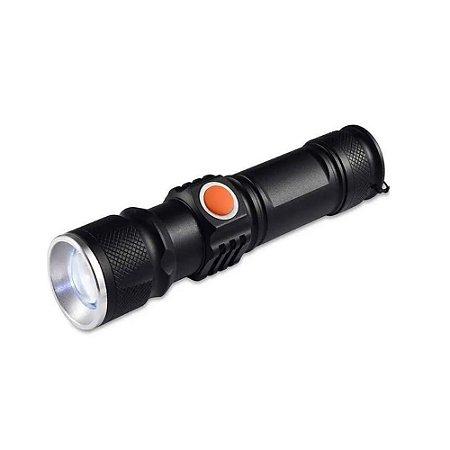 Mini Lanterna LED USB Super Potente Recarregável