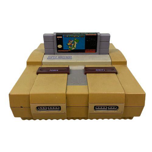 Console Super Nintendo 2 Controles + Fita do Super Mario World