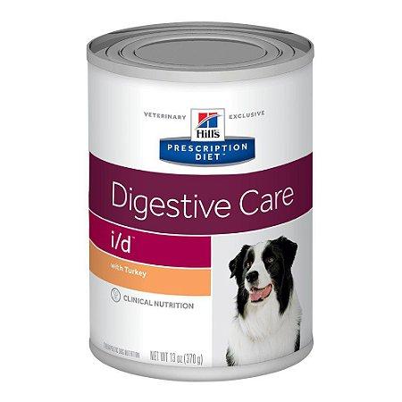 Ração Úmida Hill's Prescription Diet I/D Cuidado Digestivo Para Cães Com Doenças Gastrointestinais - 370g