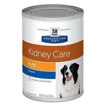 Ração Úmida Hill's Prescription Diet K/D Cuidado Renal Para Cães Adultos Com Doença Renal - 370g