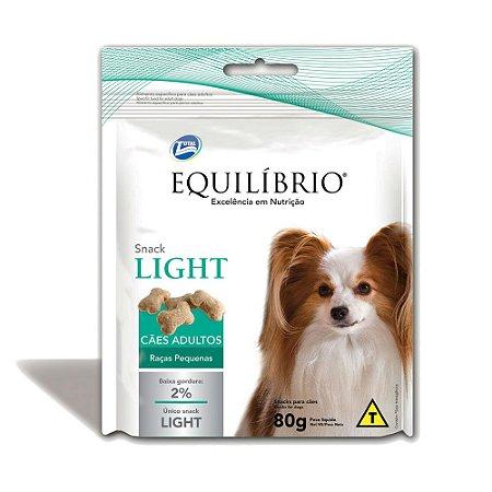 Biscoito Equilíbrio Light para Cães Adultos de Raças Pequenas - 80g