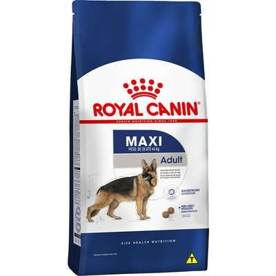 Ração Royal Canin Maxi - Cães Adultos - 15kg
