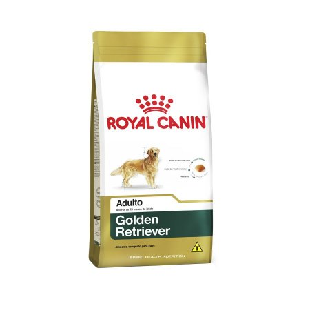Ração Royal Canin Golden Retriever - Cães Adultos - 12kg