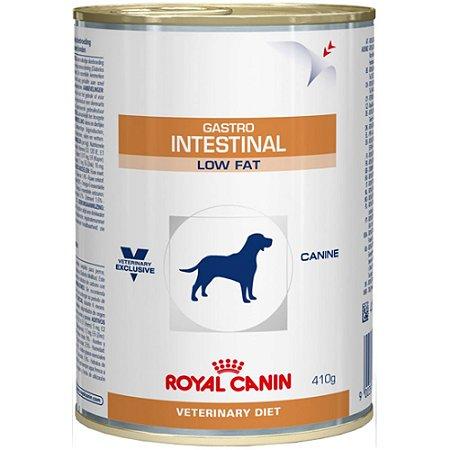 Ração Úmida Royal Canin Lata Veterinary Gastro Intestinal Low Fat - Cães Adultos - 410g