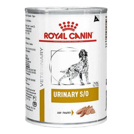 Ração Royal Canin Lata Canine Veterinary Diet Urinary S/O 410g