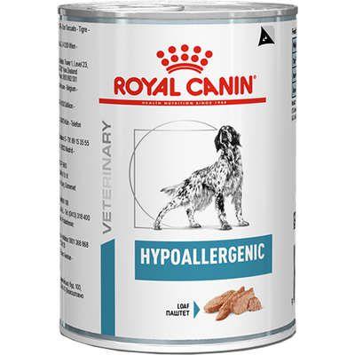 Ração Úmida Royal Canin Veterinary Hypoallergenic - Cães Adultos