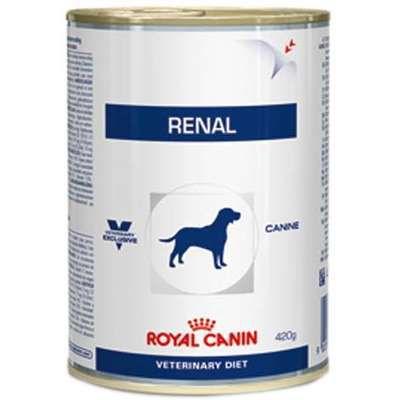 Ração Royal Canin Lata Canine Renal Wet para Cães com Doenças Renais - 410 g