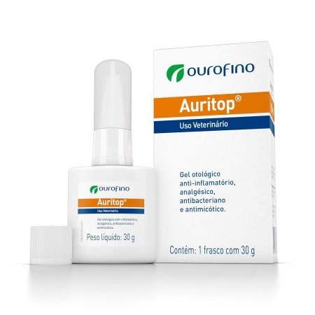 Auritop Ourofino Gel Otológico 30g