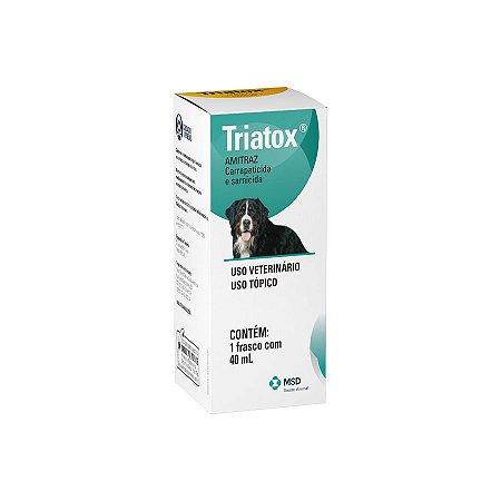 Carrapaticida MSD Triatox 40 mL