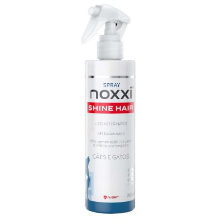 Spray Avert Noxxi Shine Hair para Cães e Gatos - 200ml