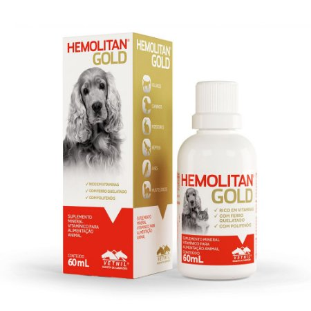Hemolitan Gold Gotas Vetnil