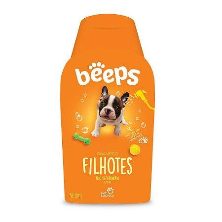 Shampoo Pet Society Cães Linha Beeps Filhotes