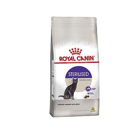 Ração Royal Canin Sterilised - Gatos Adultos